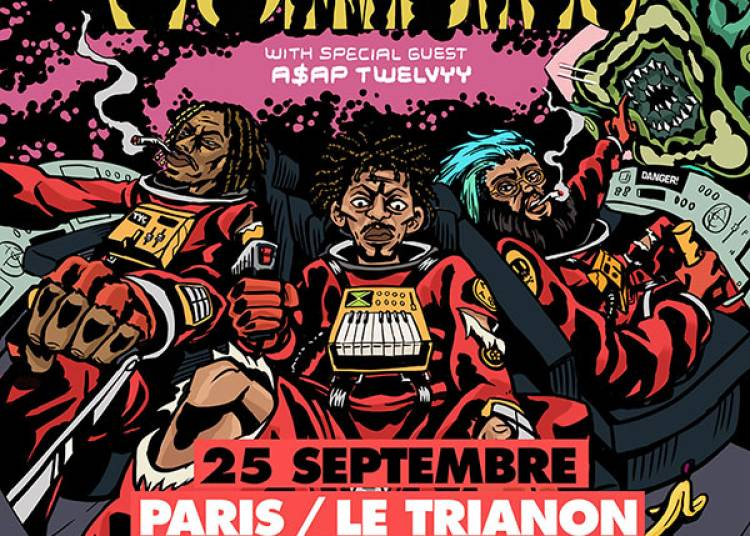 Flatbush Zombies � Paris 18�me