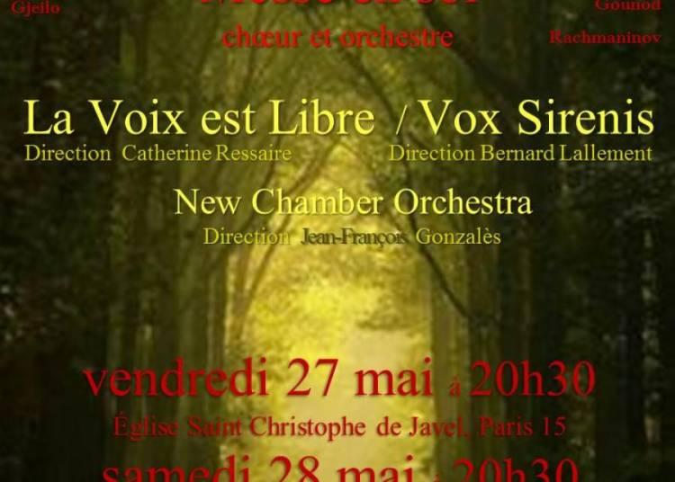 Messe en sol Schubert � Paris 15�me