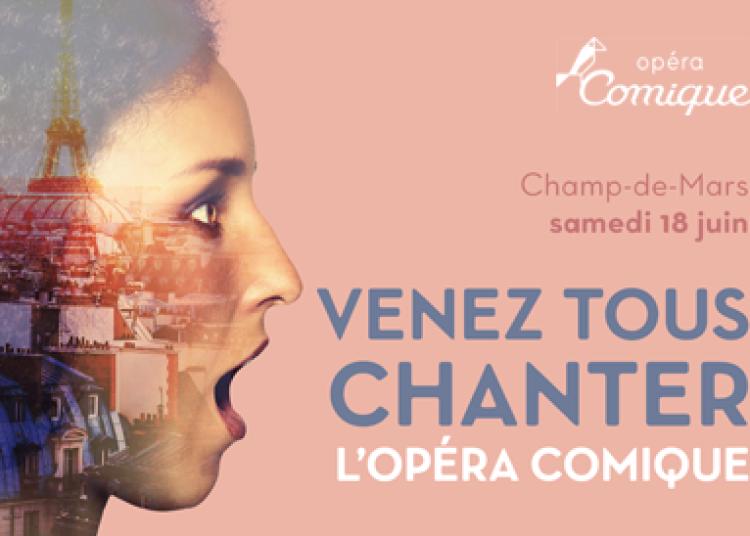 Venez chanter des airs d'op�ra sur le Champ-de-Mars � Paris 2�me