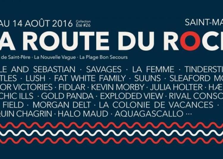 La Route du Rock - Collection �t� 2016