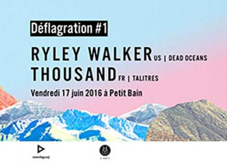 Ryley Walker et Thousand � Paris 13�me
