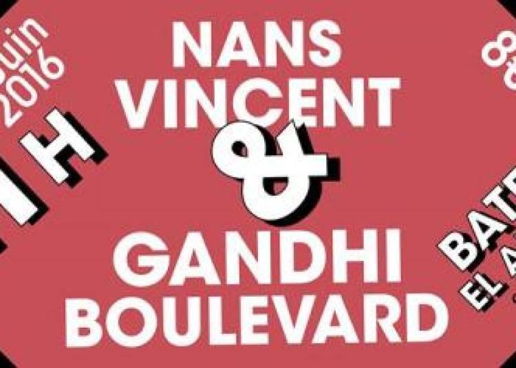 Gandhi Boulevard et Nans Vincent � Paris 13�me