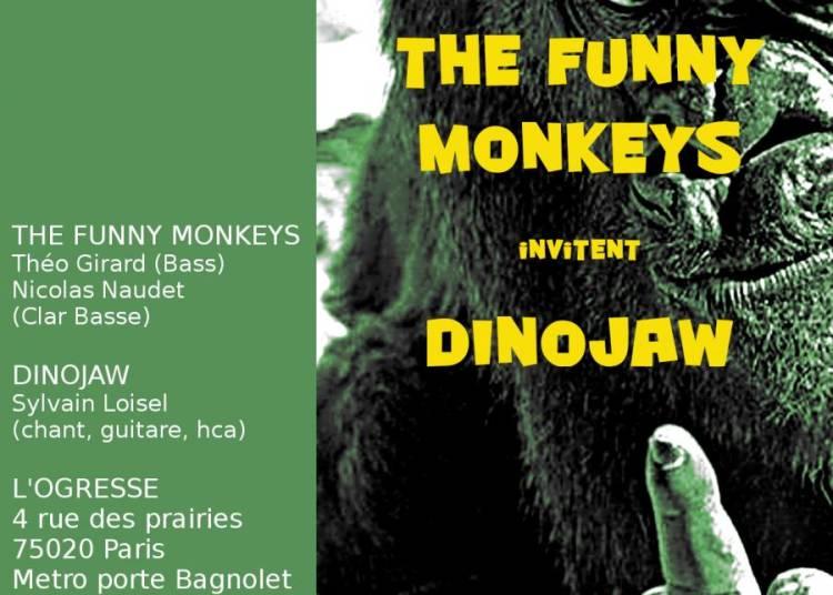 The Funny Monkeys invitent Dinojaw � Paris 20�me