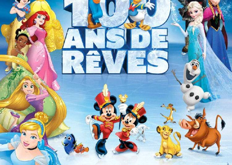 Disney Sur Glace - 100 Ans De Reves � Paris 19�me