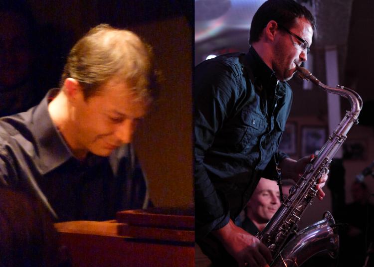 Duo Squal�yo duo jazz sax et piano avec Pascal Perrier et Lionel Moreau Flachat � Grenoble