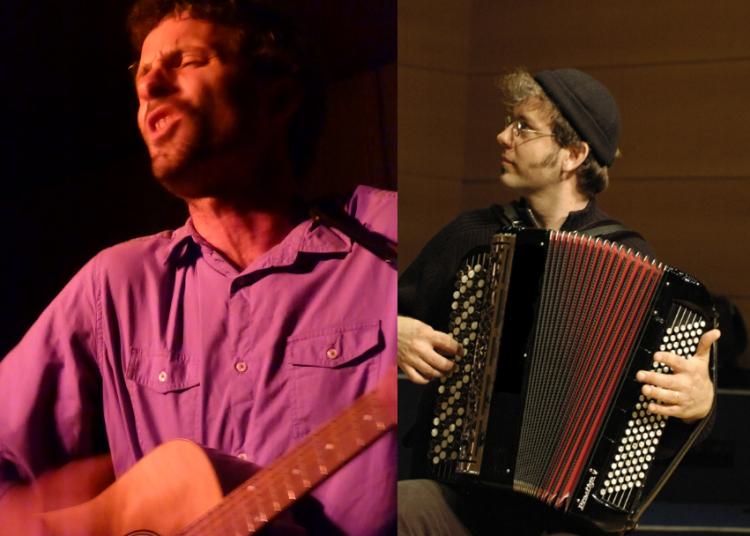 Philippe Seranne et Patrick Reboud chanson fran�aise chant, accord�on, piano, guitare � Grenoble