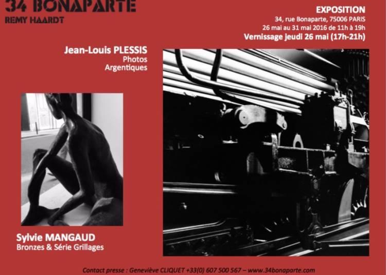 Plessis Jean Louis et Sylvie Mangaud � Paris 6�me
