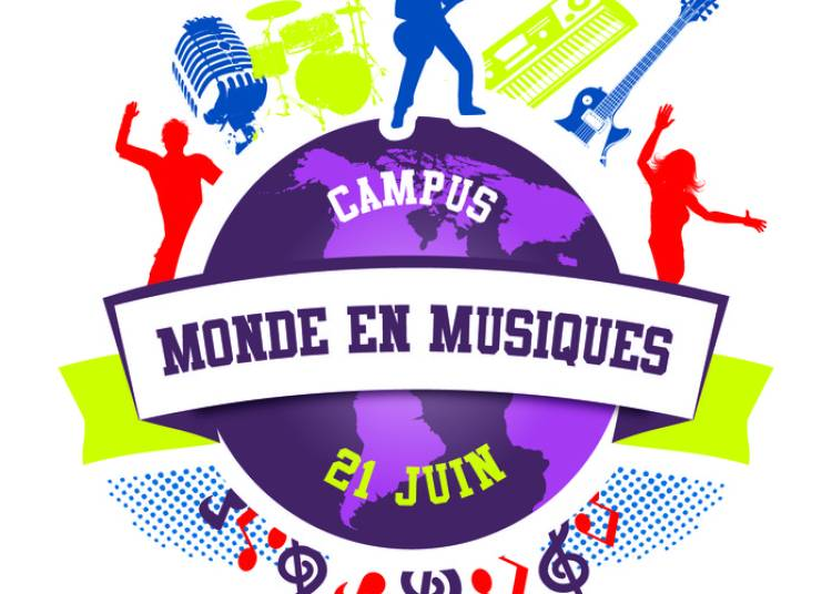 Campus Monde En Musiques - Place Charles De Gaulle � Poitiers