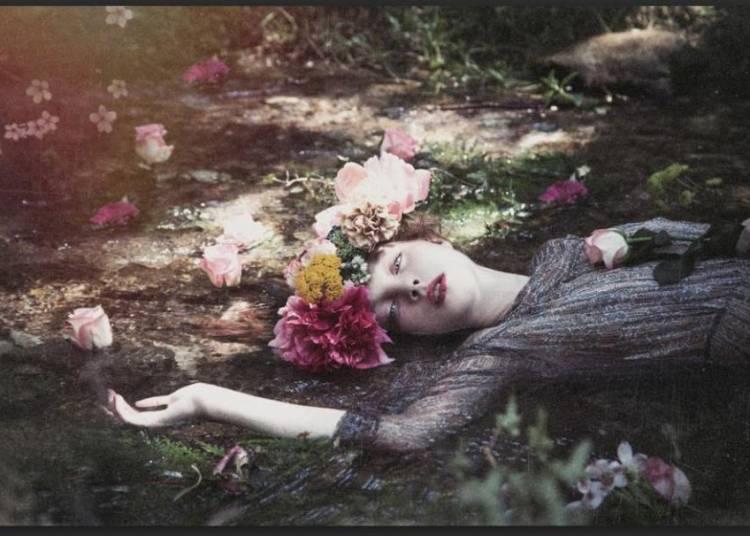 Oph�lia, Photographies de Lou Sarda � Paris 4�me