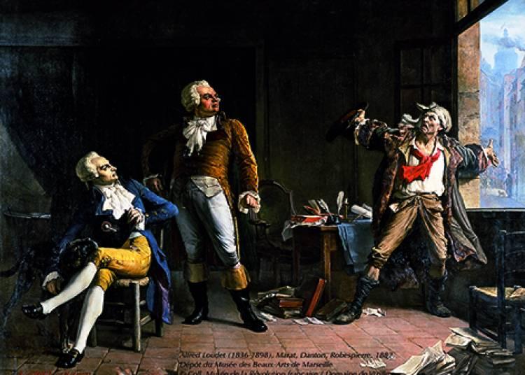 La Rencontre - Marat Daton Robespierre � Vizille