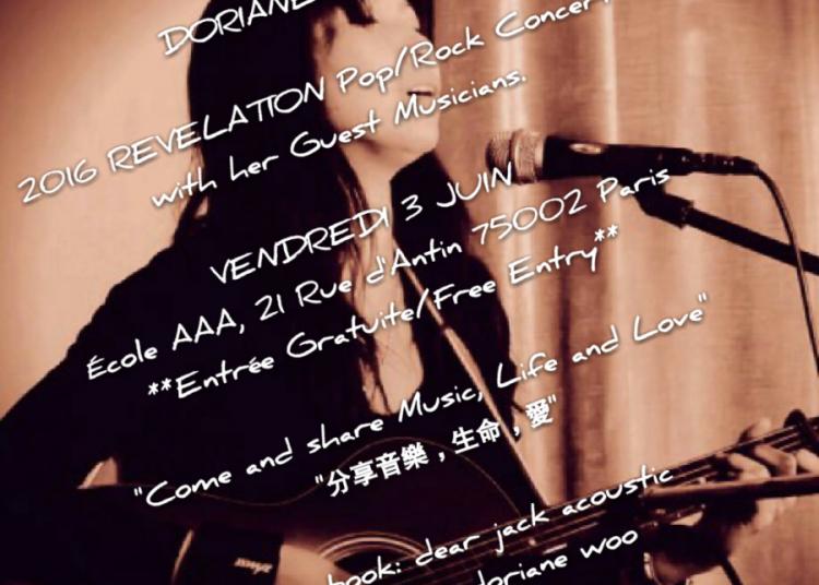 Doriane Woo � Paris 2�me