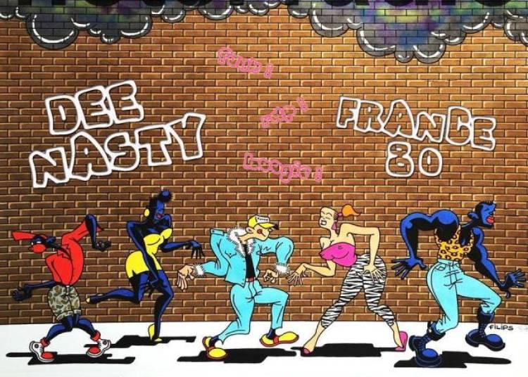 Dance Like It's 1985 Avec Dee Nasty, France80 Et Bmw Funk � Paris 19�me