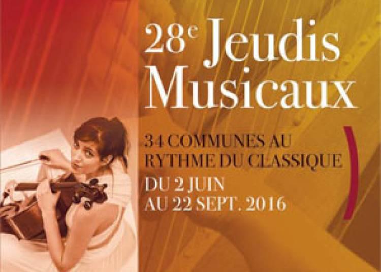 Les Jeudis Musicaux 2016
