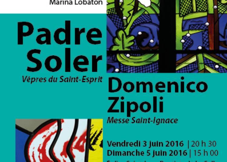 Concert Baroque Zipoli - Soler � Paris 15�me