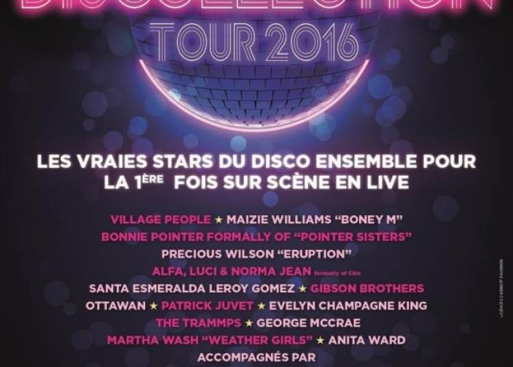 Discollection Tour 2016 � Paris 19�me