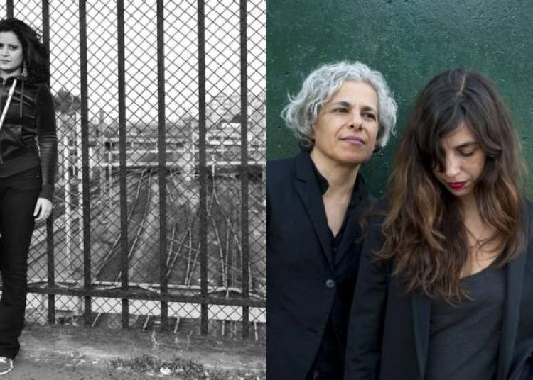 Naissam Jalal et Sarah Murcia � Le Blanc Mesnil