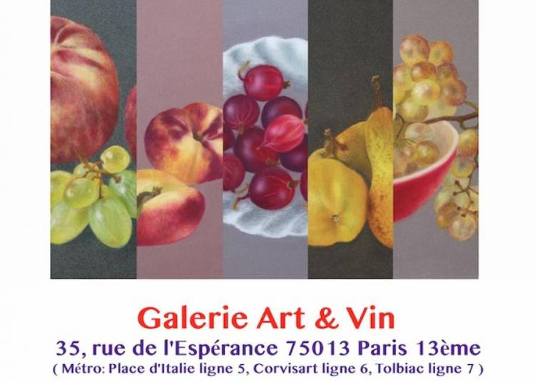 Kazumi Wakayama, Pastel & Gravure � Paris 13�me
