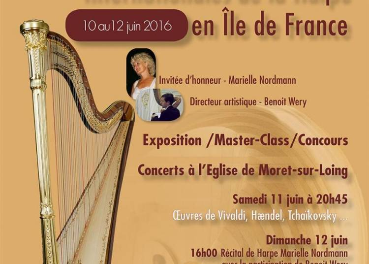 Les 1�res Rencontres Internationales de la Harpe en �le de France 2016