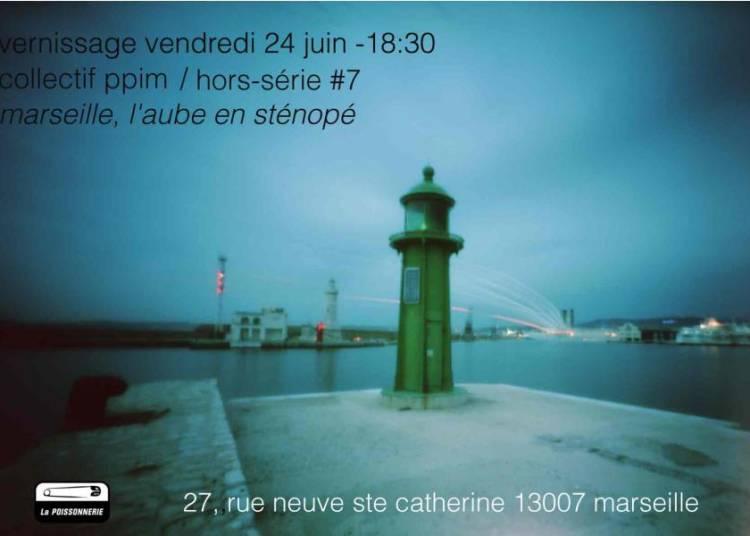 Marseille, l'aube en st�nop�