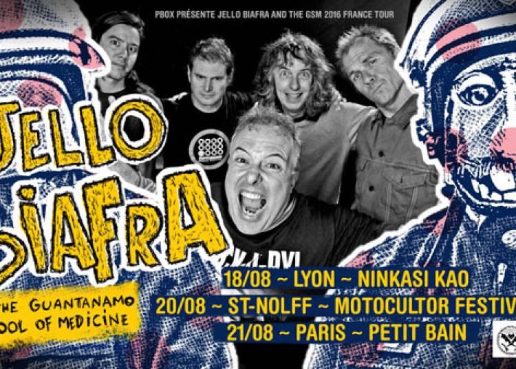 Jello Biafra � Paris 13�me