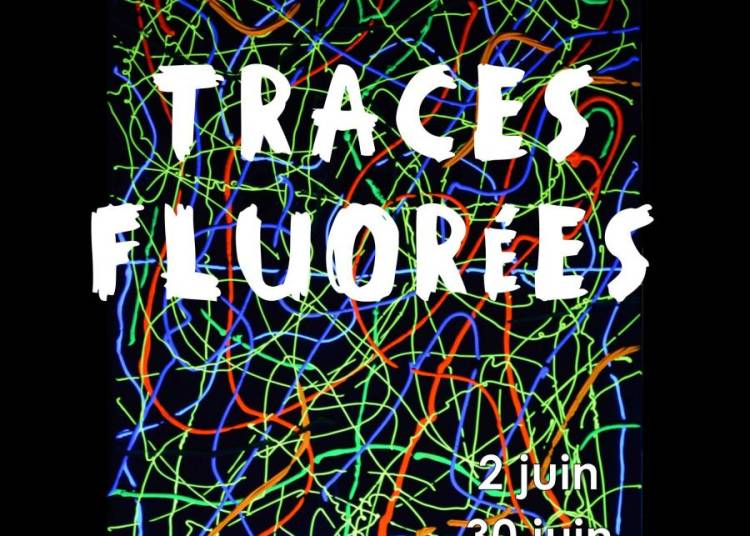 Art Contemporain : Traces fluor�es de Jacques Ayel � Nimes