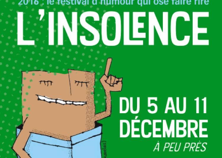 Semaine de l'insolence 2016