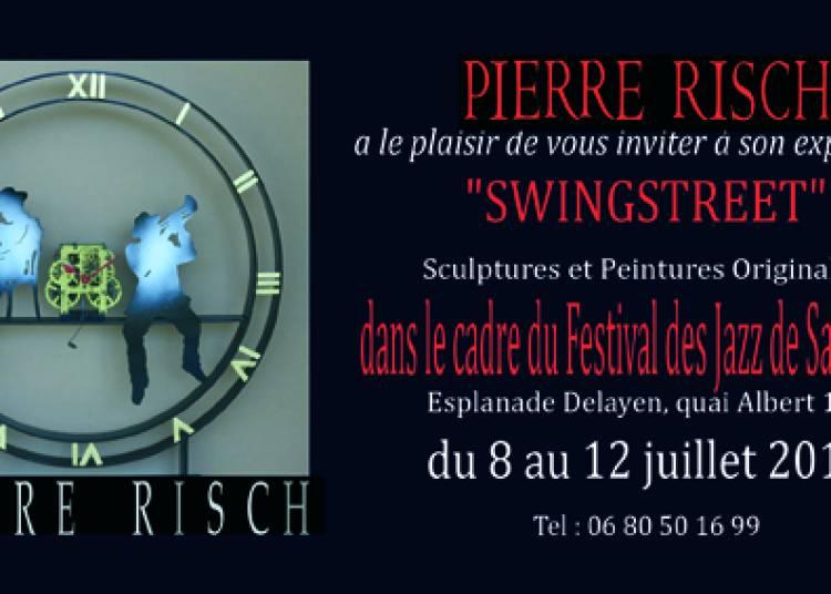 Pierre Risch - Swingstreet - Sculptures Just jazz � Saint Raphael