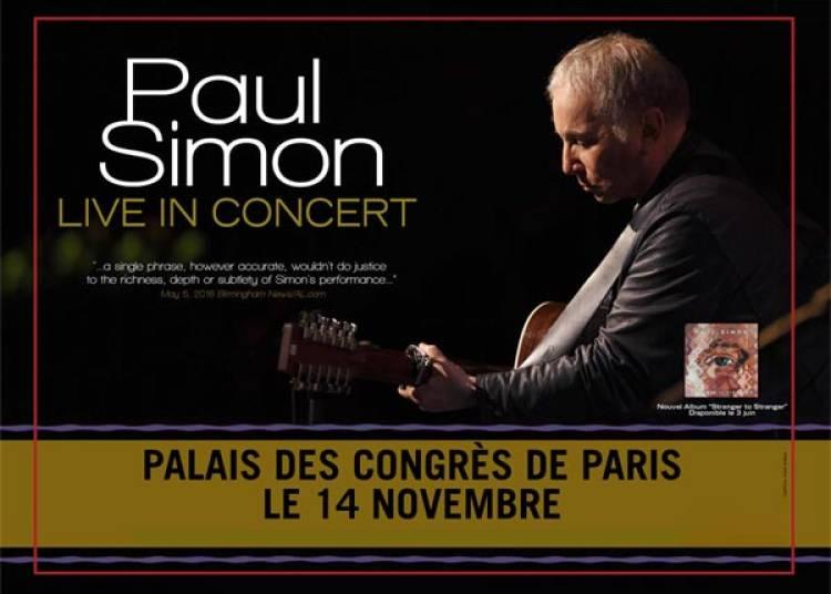 Paul Simon � Paris 17�me