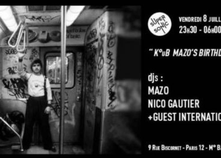 Club: K�ub � Paris 12�me