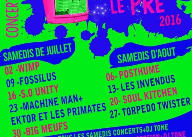 Machine Man Au Festival Le Rock Est Dans Le Pr� � Mongauzy