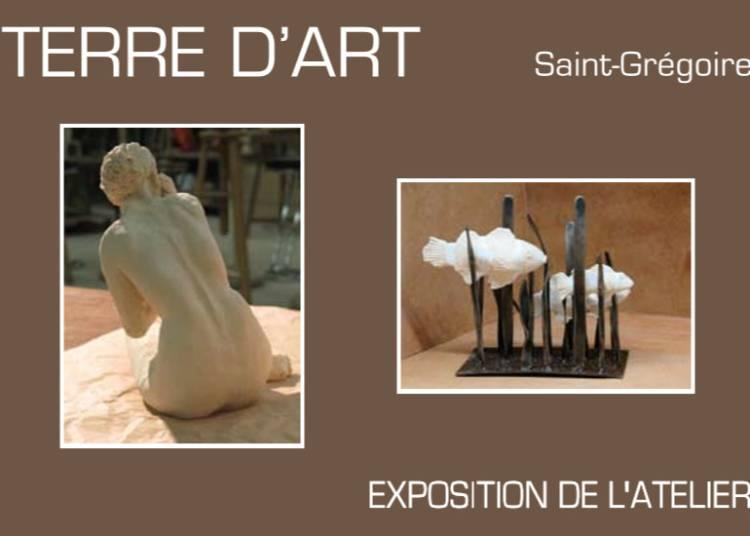 Peinture et sculpture � Saint Gregoire