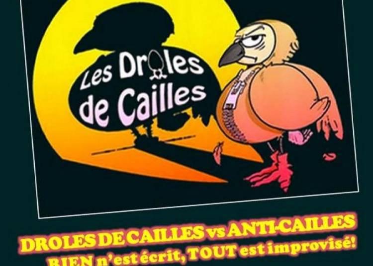 Match d'Impro - Les Dr�les de Cailles � Paris 13�me
