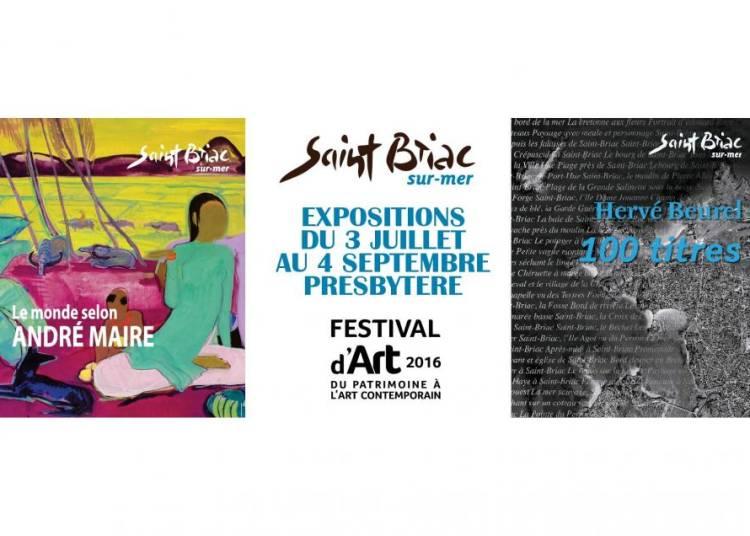 21�me Festival d'art : du patrimoine � l'art contemporain � Saint Briac sur Mer