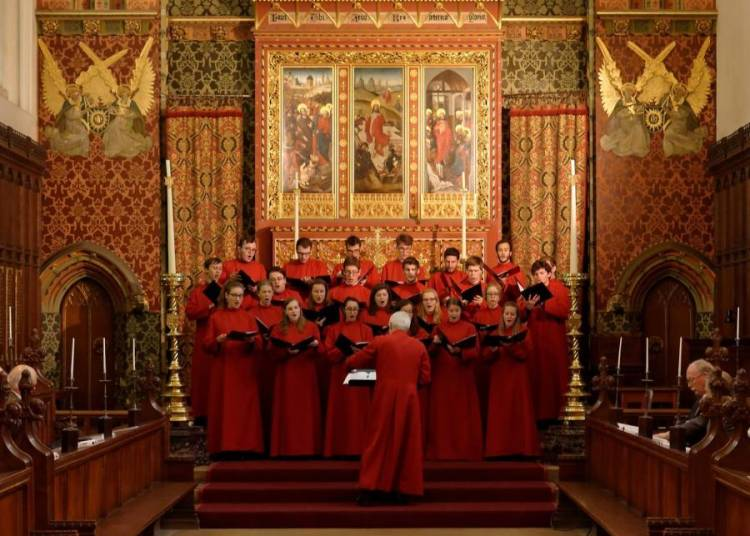 Choral du Queens' College Cambridge � Angers