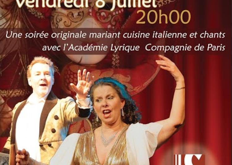 D�ner Lyrique au restaurant Italien Il Seguito Paris � Paris 11�me