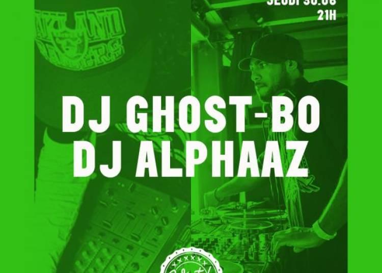 Dj Ghost-bo Et Dj Alphaaz � Paris 19�me