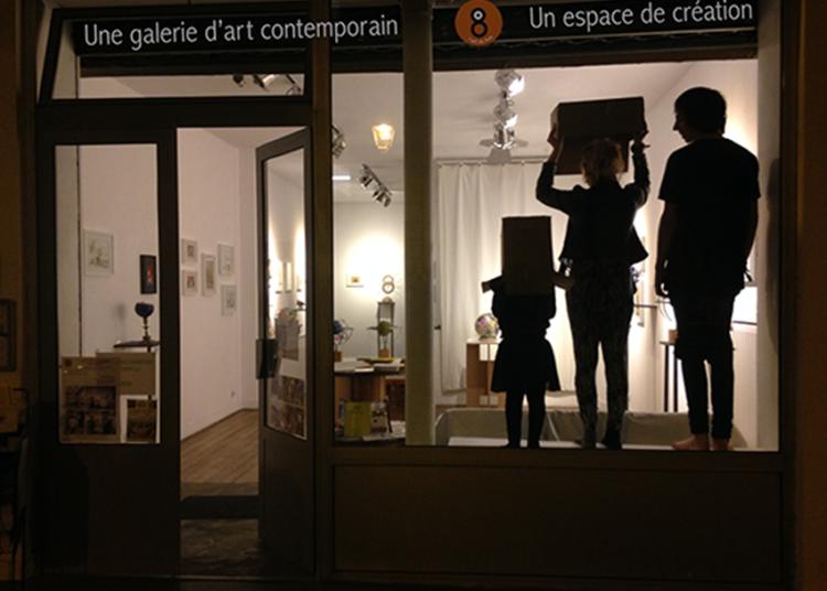 Exposition des oeuvres du concours de l'Oeil du Huit � Paris 9�me