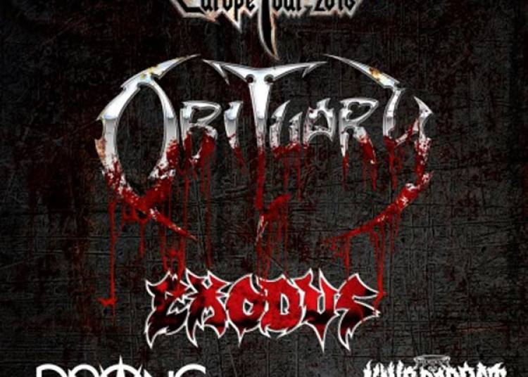 Obituary, Exodus et Prong � Lille