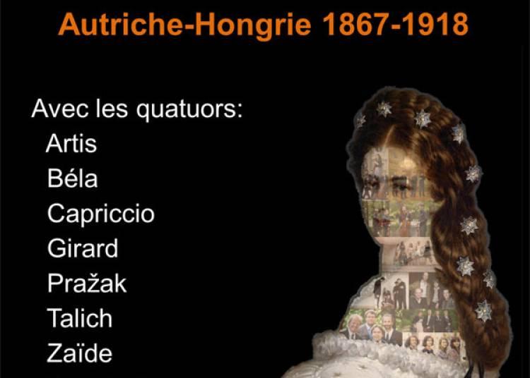 Quatuor Zemlinsky et M.gemrotova � La Roque d'Antheron