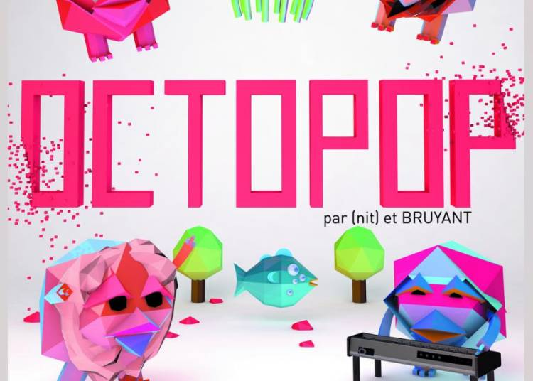 Octopop, concert Interactif Audio-visuel � Toulon