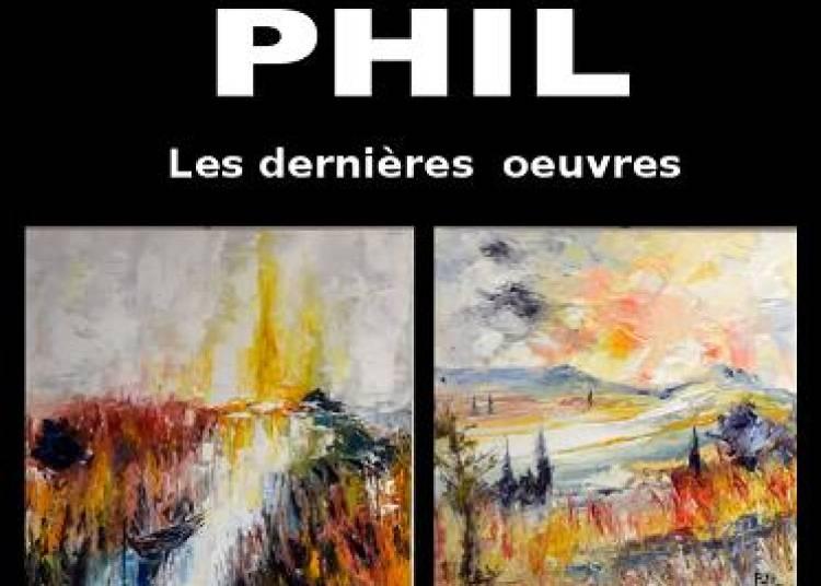 Les derni�res oeuvres de PHIL � Talloires