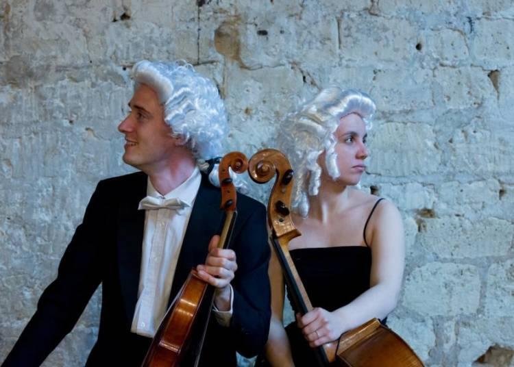 Tour d'Europe du XVIII�me si�cle : les virtuoses galants � Bostens