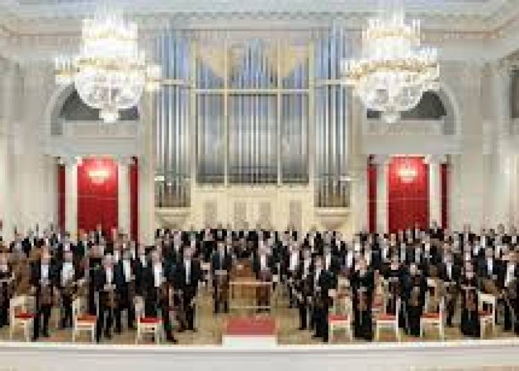 Orchestre Phil.de St-petersbourg � Paris 8�me