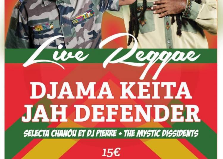 Jah Defender et Djama Ke�ta � Paris 10�me