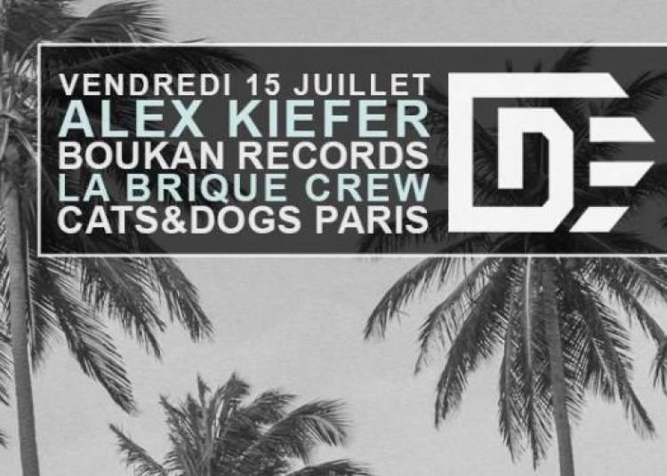 Alex Kiefer, Boukan Records, La Brique Crew � Paris 2�me