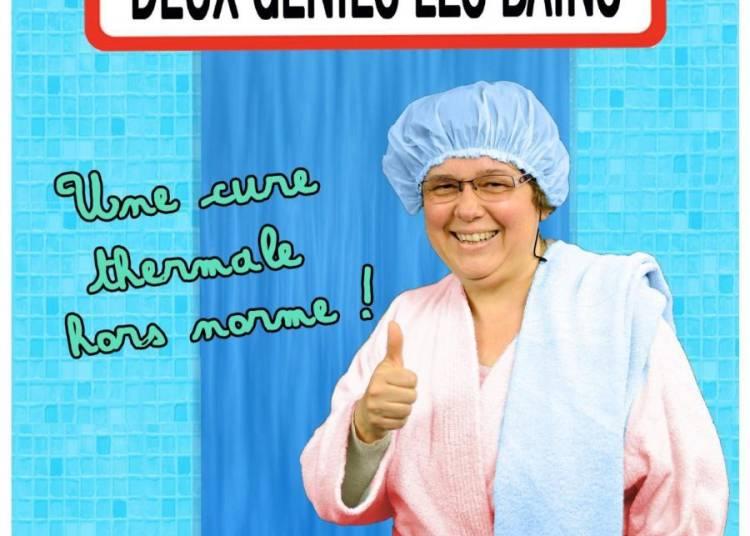 La cure thermale deux g�nies les bains � Paris 19�me