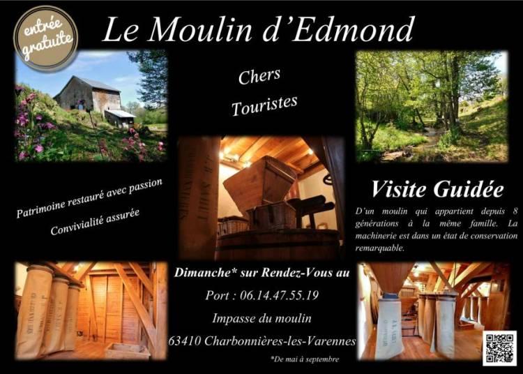 Visite Guid�e du moulin d'Edmond � Charbonnieres les Varennes
