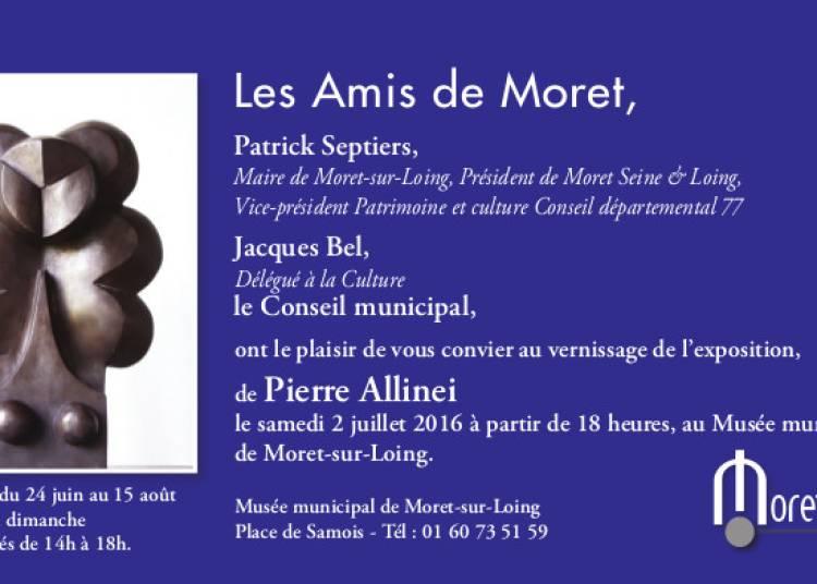 Pierre Allinei � Moret sur Loing