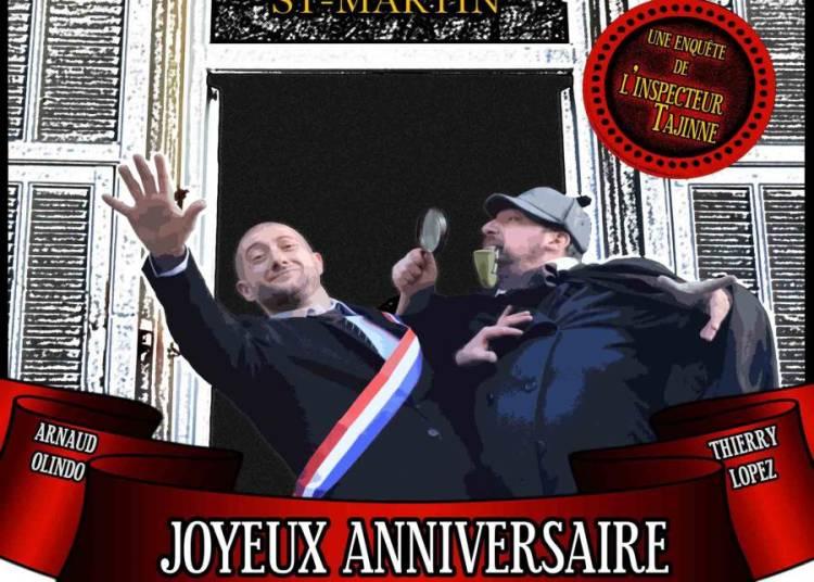 Joyeux anniversaire monsieur le maire � Aix en Provence