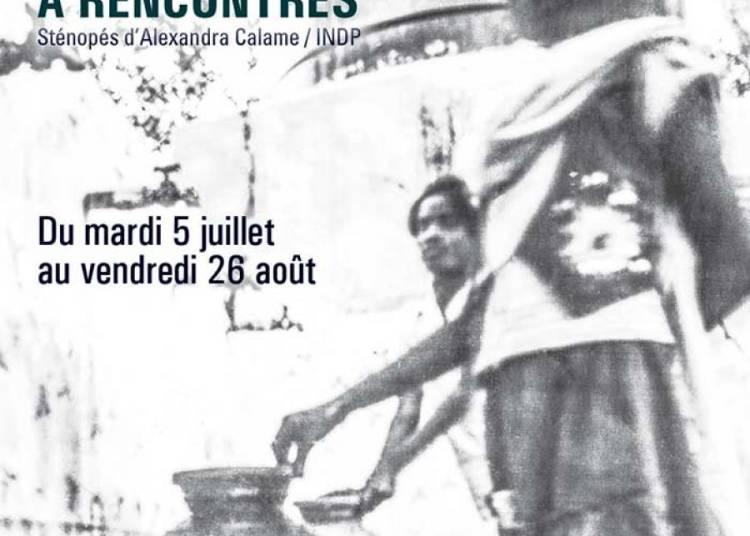 Bo�te � rencontres d'Alexandra Calame / INDP � Paris 10�me